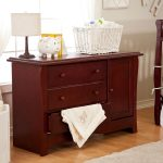 Combo Cherry Wood Changing Table