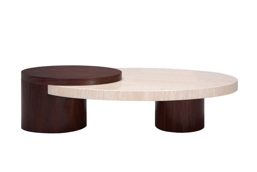 Image of: Concept Oval Marble Coffee Table