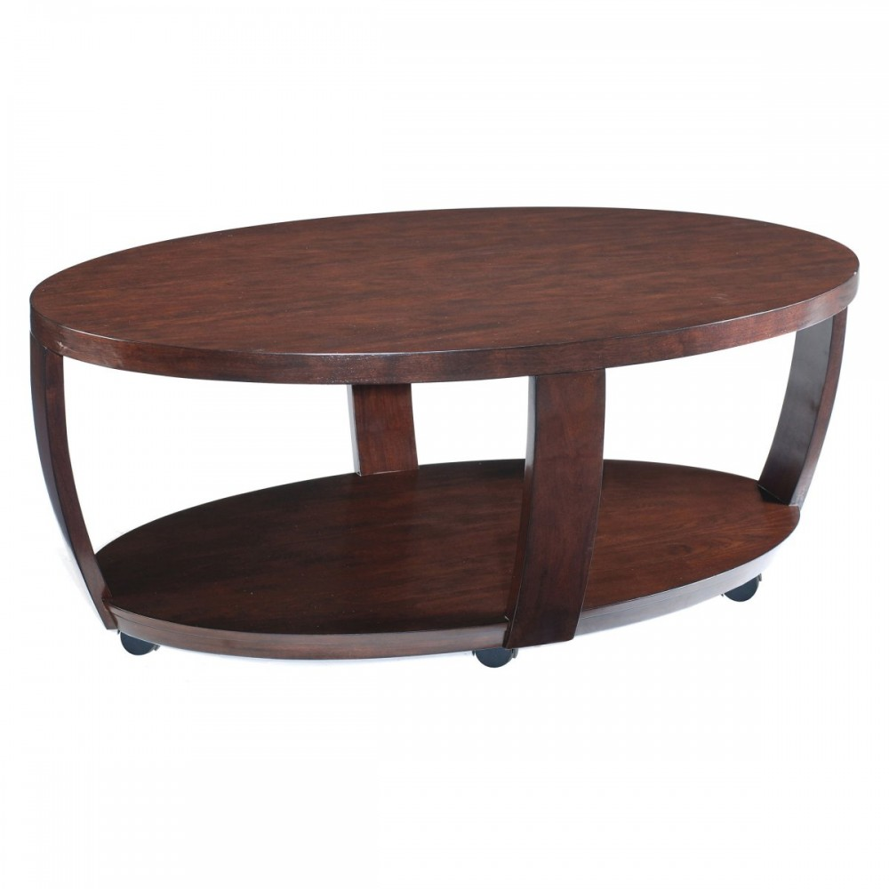 Picture of: Concept Oval Wood Coffee Table
