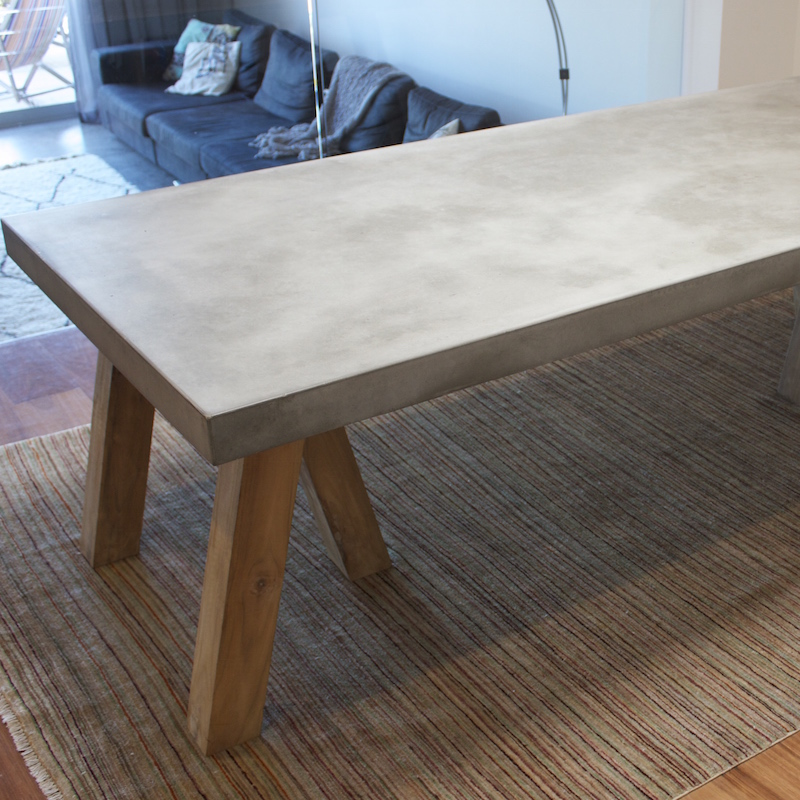Picture of: Concrete Table Tops Ideas