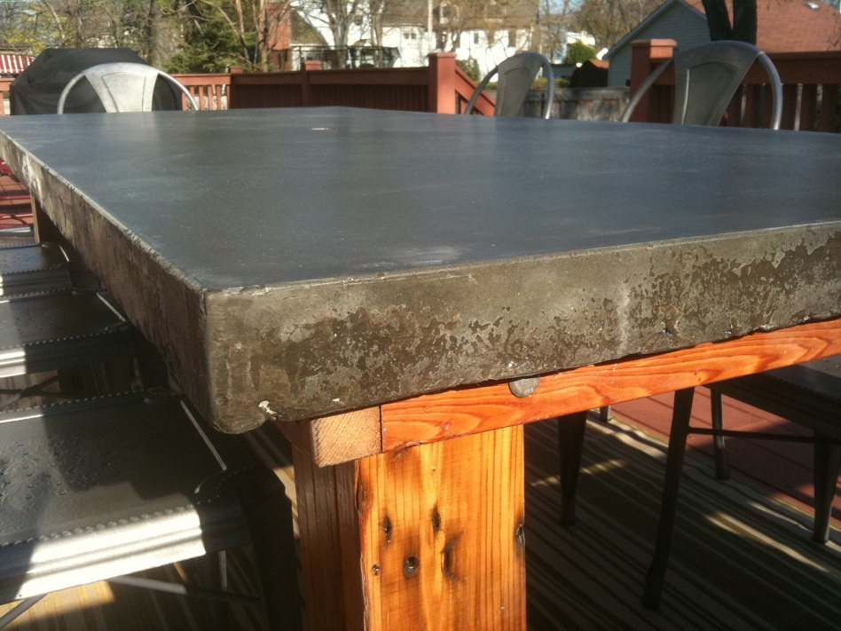 Picture of: Concrete Table Tops Patio
