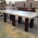 Concrete Top Dining Table Pads