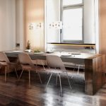 Concrete Top Dining Table And Chairs