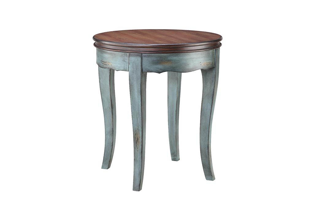 Picture of: Contemporary Round Accent Table