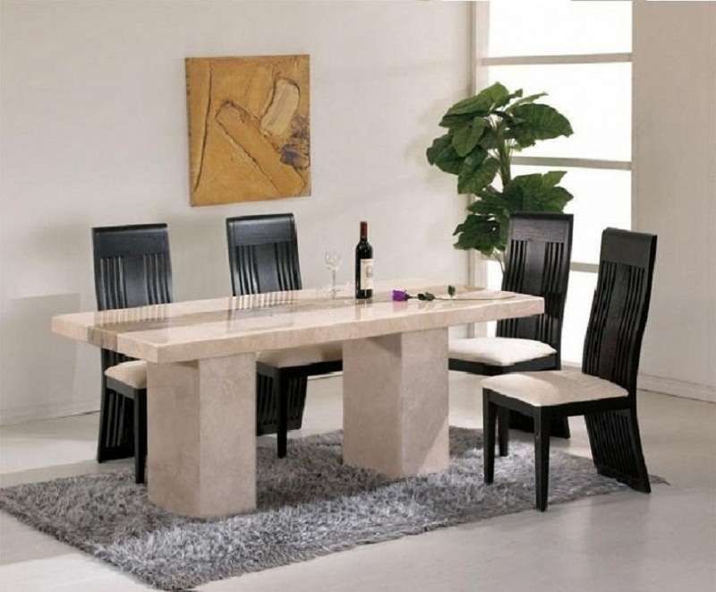 Picture of: Contemporary Tempered Glass Table Top