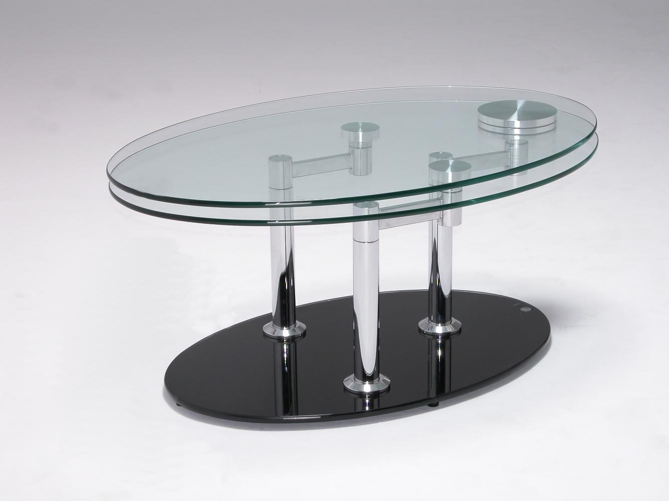 Picture of: Contemporary coffee tables oval
