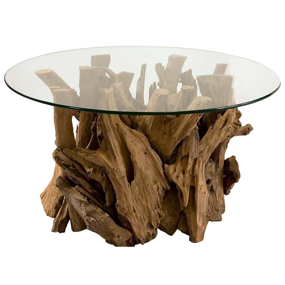Picture of: Cool Driftwood Coffee Table