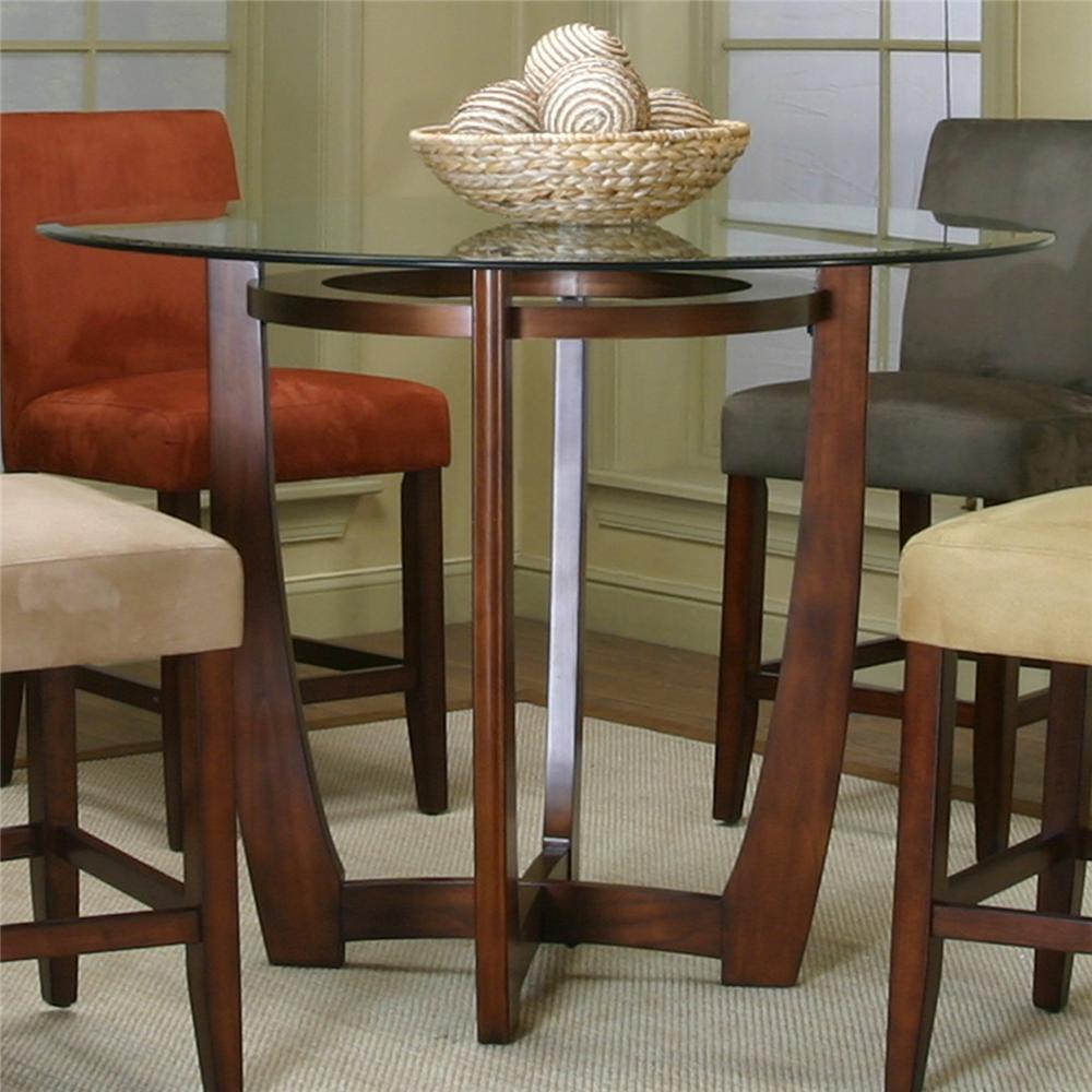 Picture of: Cool Pedestal Table Base for Glass Top