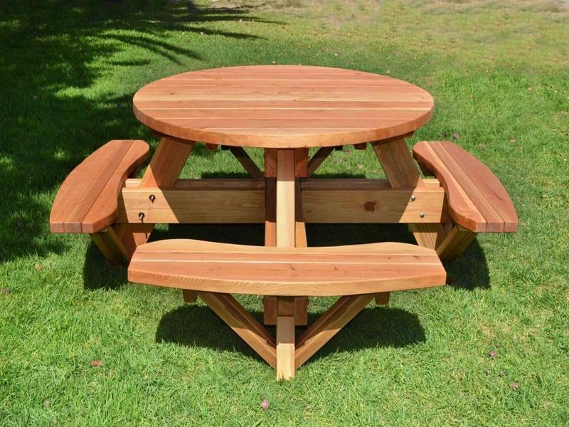 Image of: Build DIY Picnic Table Pictures