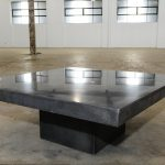 Crate And Barrel Cement Coffee Table