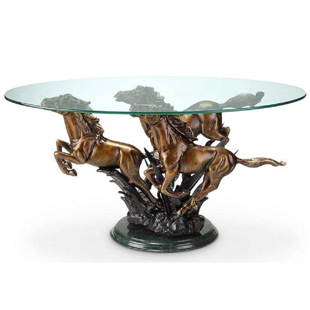 Image of: Creating Pedestal Table Base for Glass Top