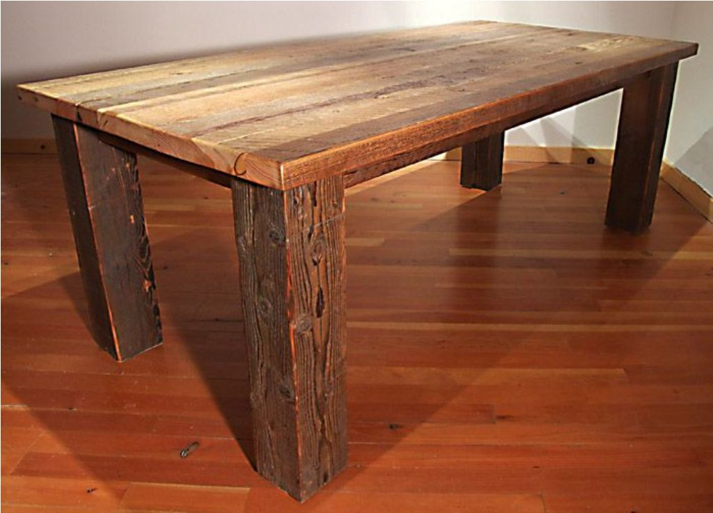 Picture of: diy barn wood tables for sale