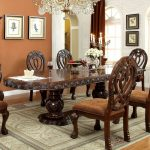 Decorative Cherry Wood Dining Table