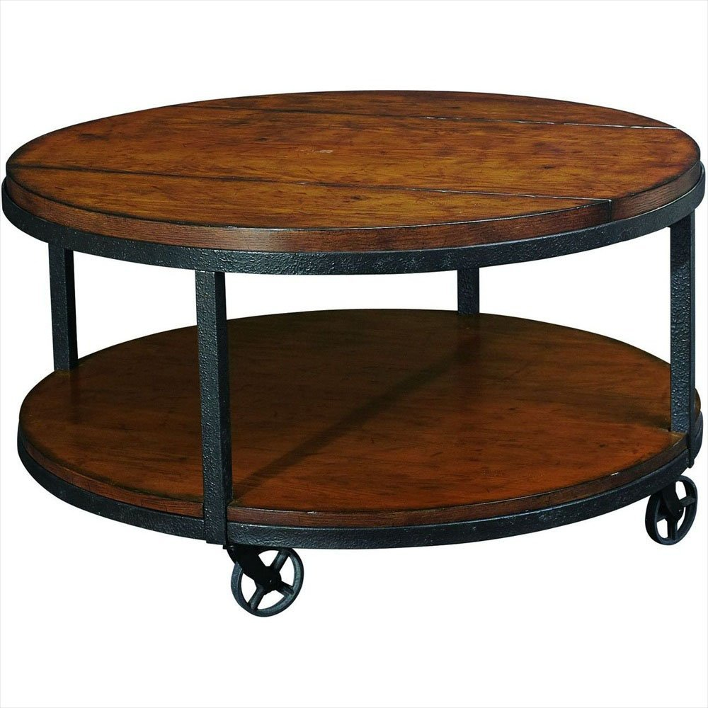 Image of: Decorative Solid Wood Coffee Table