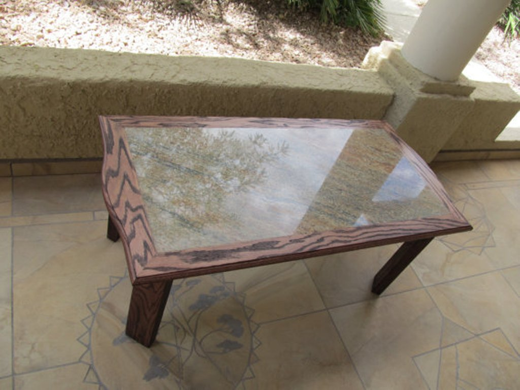 Image of: Denver Granite Coffee Table