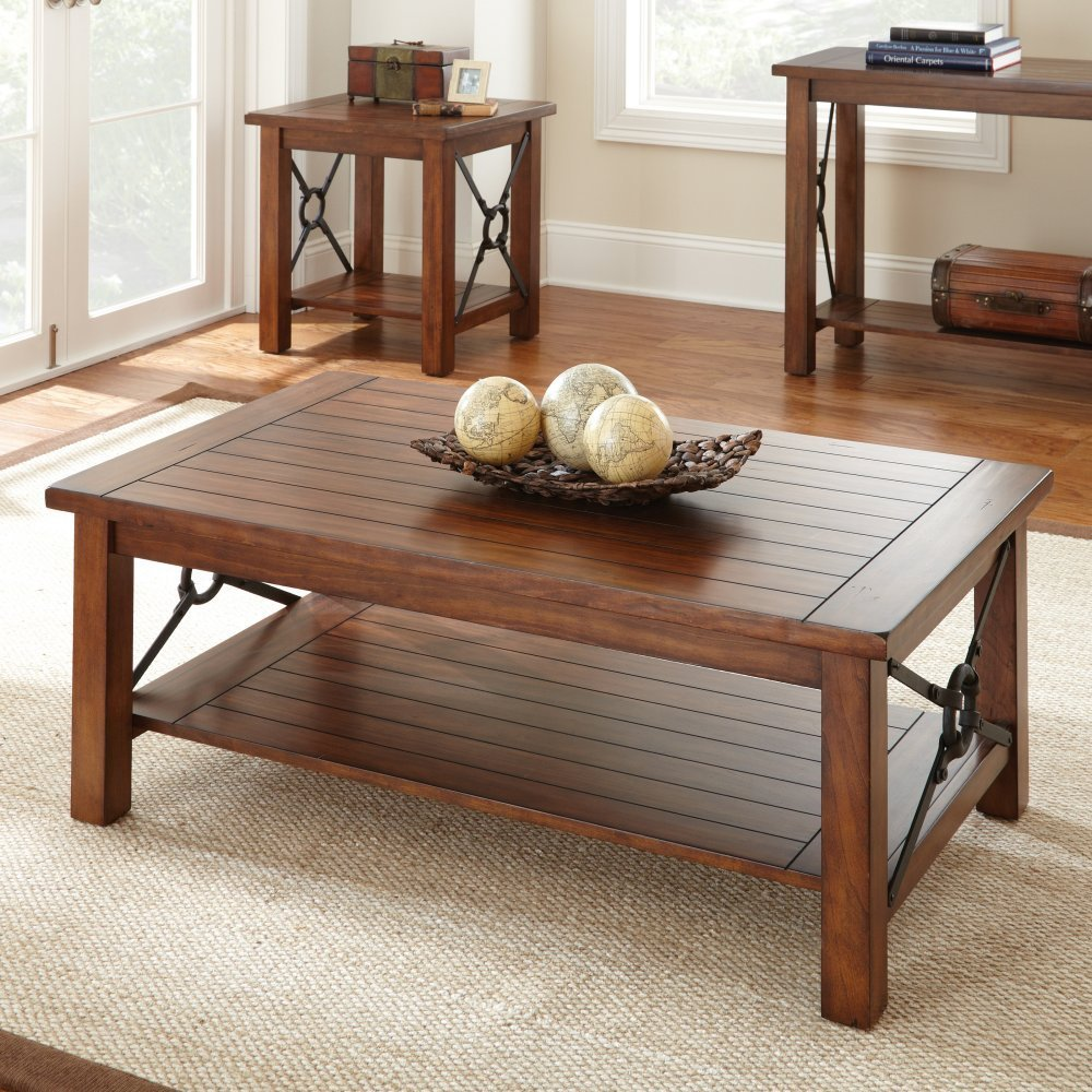 Picture of: Design Rustic Wood Coffee Table