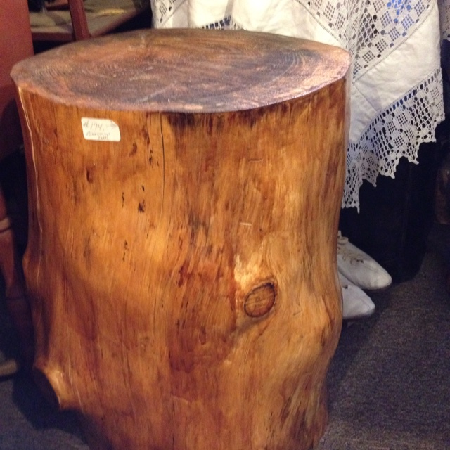 Picture of: Design tree stump coffee table