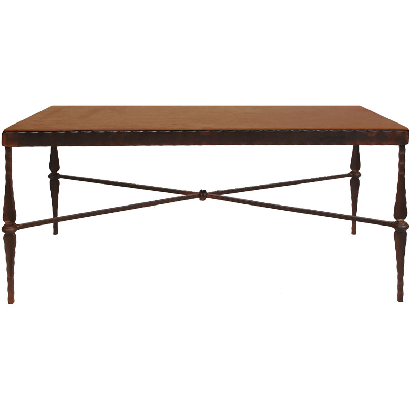 Picture of: Designer leather coffee table