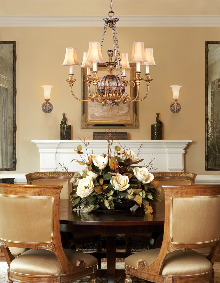 Picture of: Dining Room Table Centerpieces Lighting