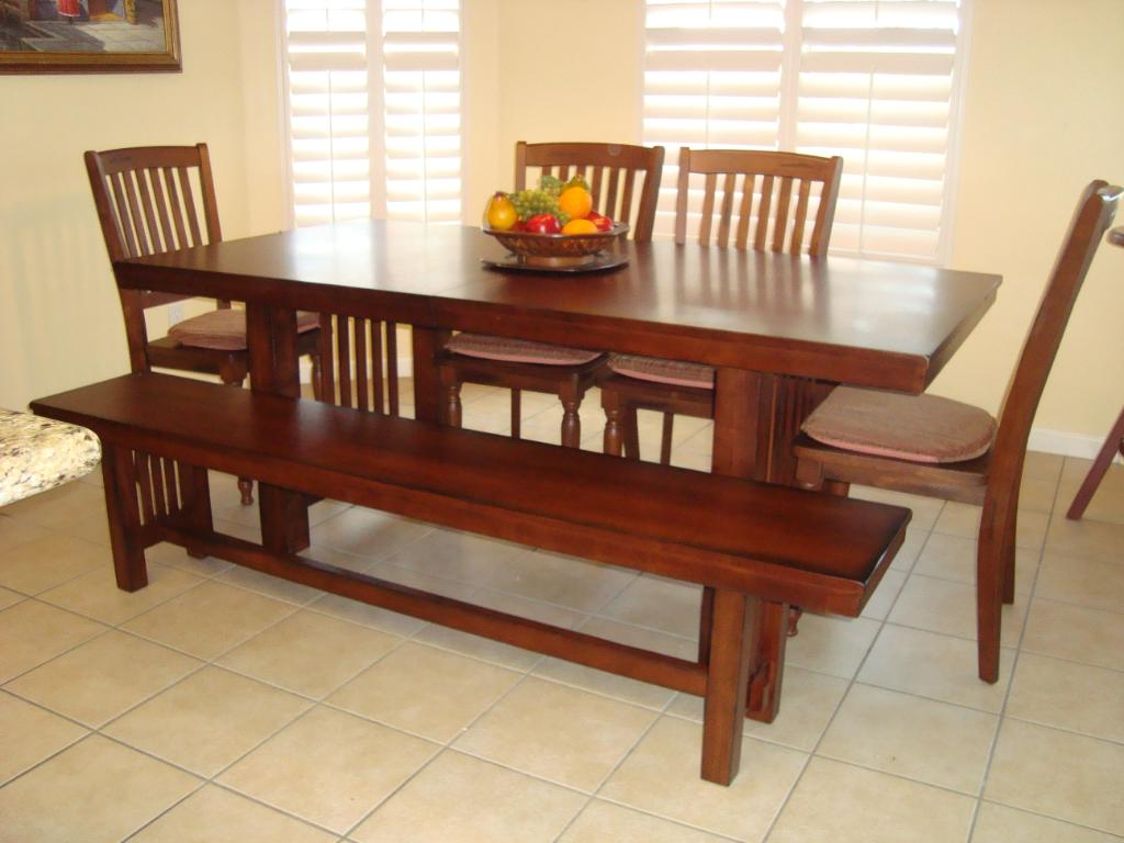 Picture of: Dining Table Bench Cushions