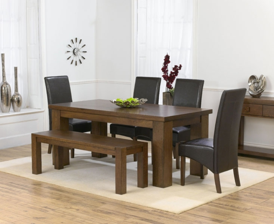 Picture of: Dining Table Bench Designs