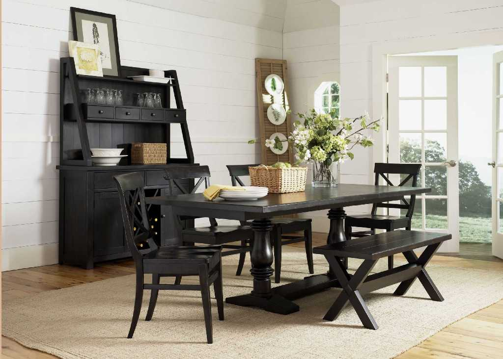 Image of: Dining Table Bench Ideas