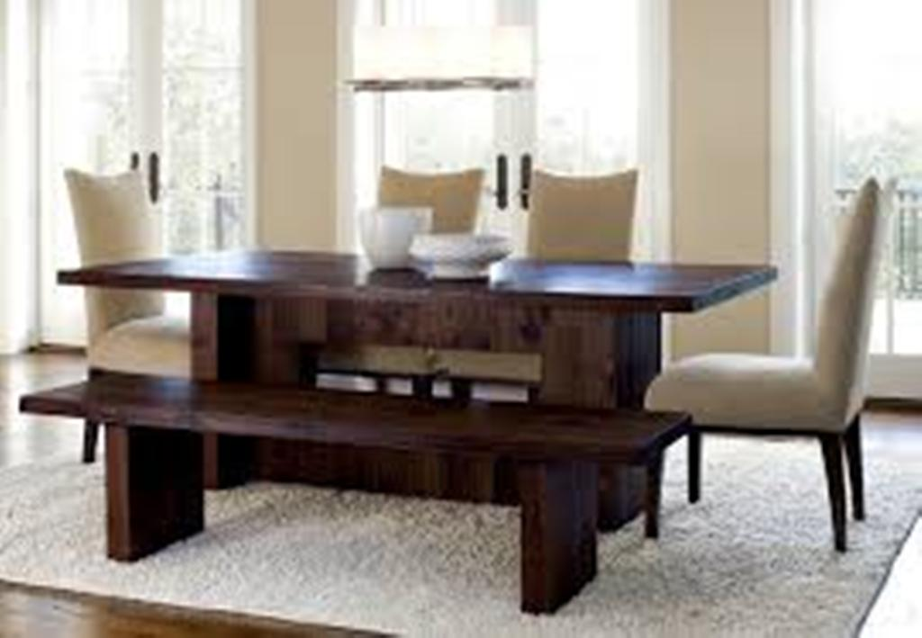 Image of: Dining Table Bench Seat