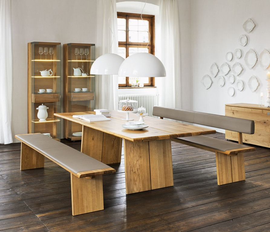 Dining Table Bench With Storage Ideas