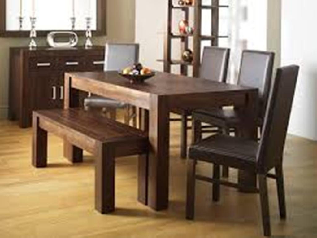 Dining Table Bench With Storage