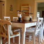 Distressed Dining Room Table And Chair Set