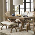 Distressed Wood Dining Room Table Color