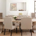 Distressed Wood Dining Room Table Modern
