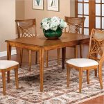 Distressed Wood Dining Table Set Furniture