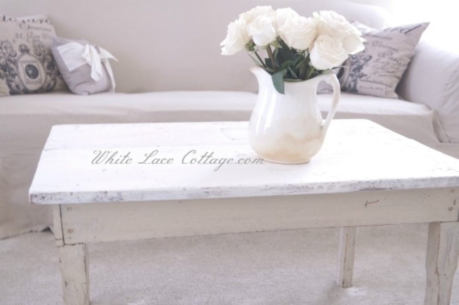 Picture of: Distressed Coffee Tables And End Tables