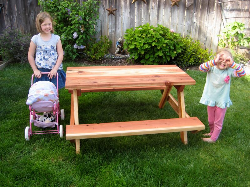 Picture of: Diy Picnic Table