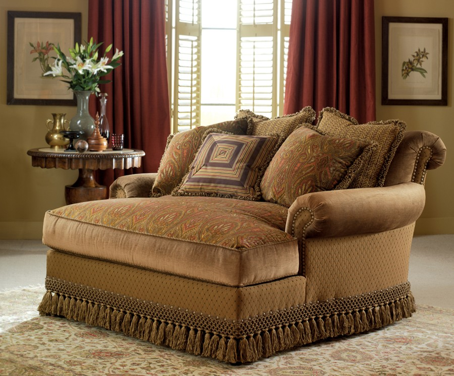 Image of: Double Chaise Lounge Type