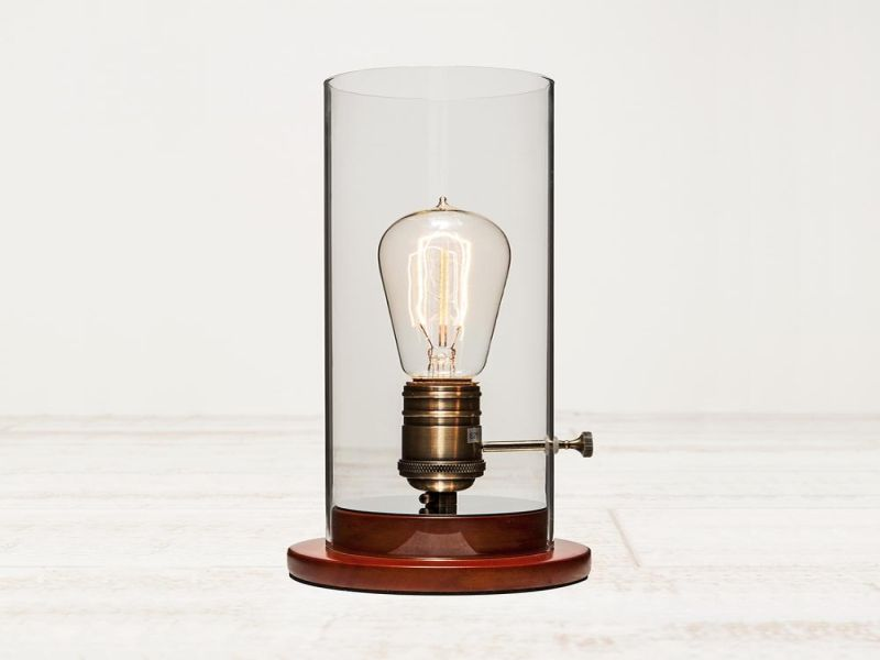 Picture of: Edison Table Lamp Amazing