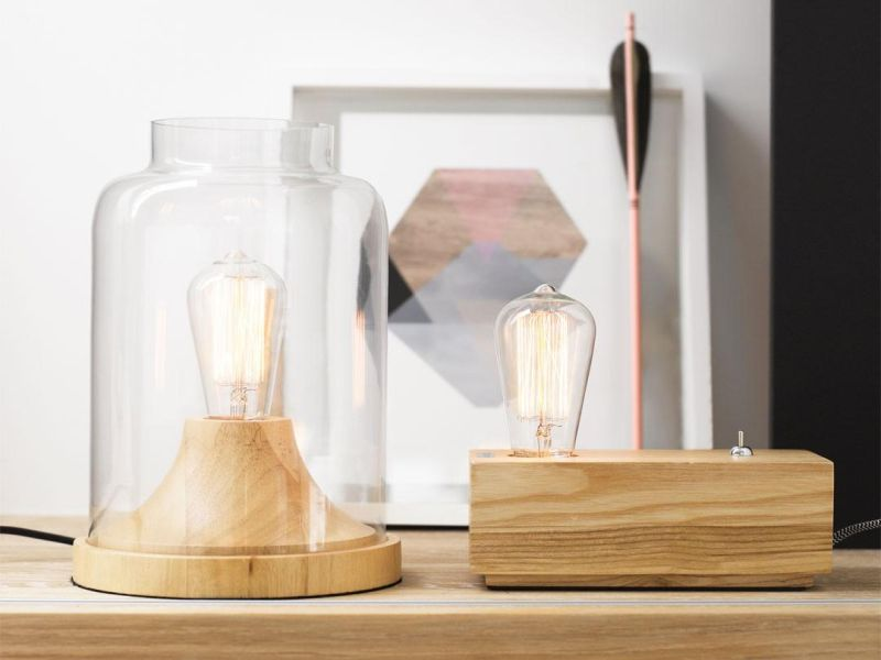 Picture of: Edison Table Lamp Ideas