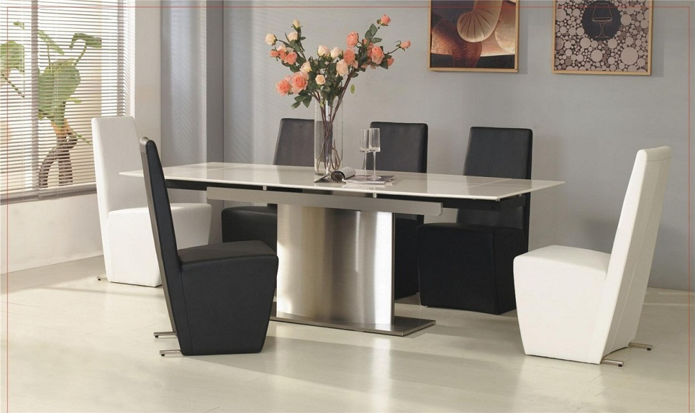 Elegant Tempered Glass Table Top