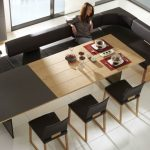Expandable Dining Table Bench Seating
