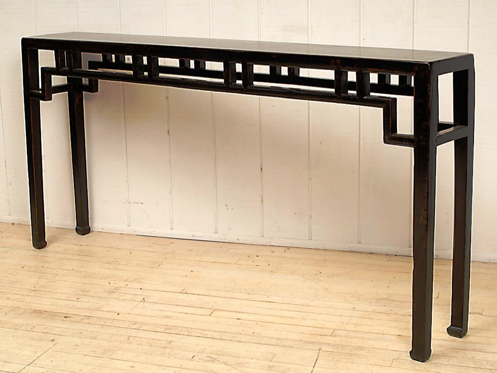 Picture of: Extra Long And Narrow Console Table