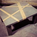 Faux Cement Coffee Table