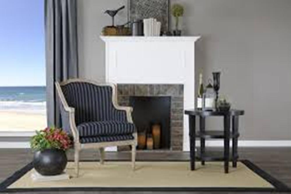 Image of: French Accent Chair with Arms