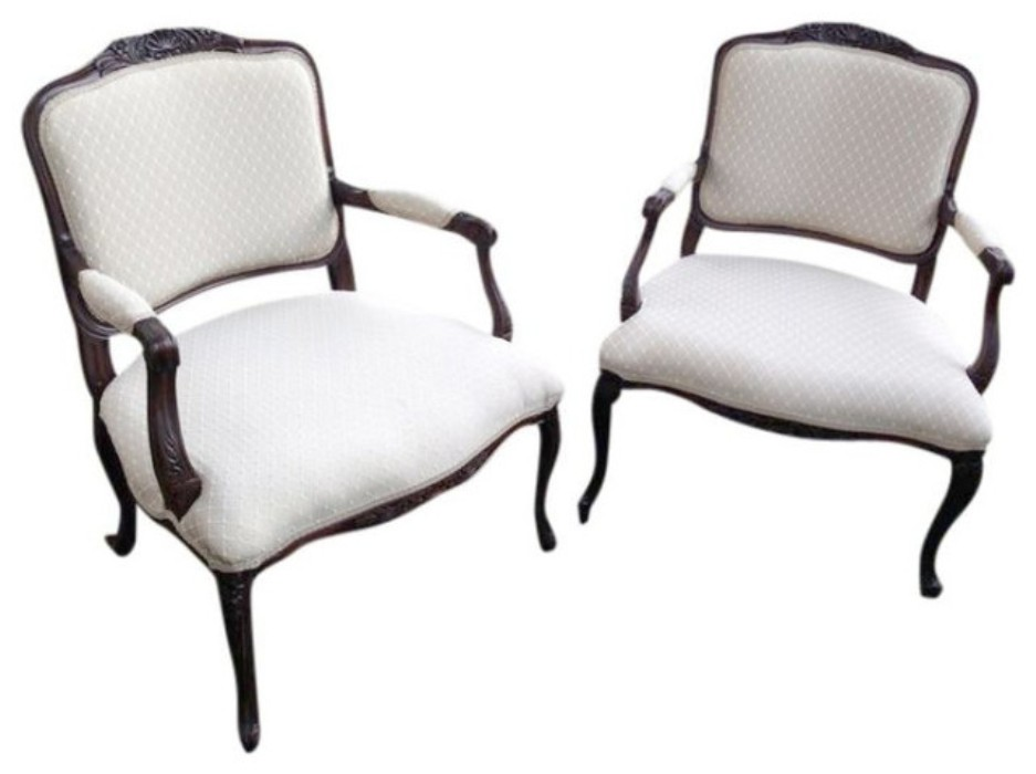 Image of: French Accent Chairs for Bedroom