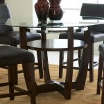 Glass Counter Height Table Designs