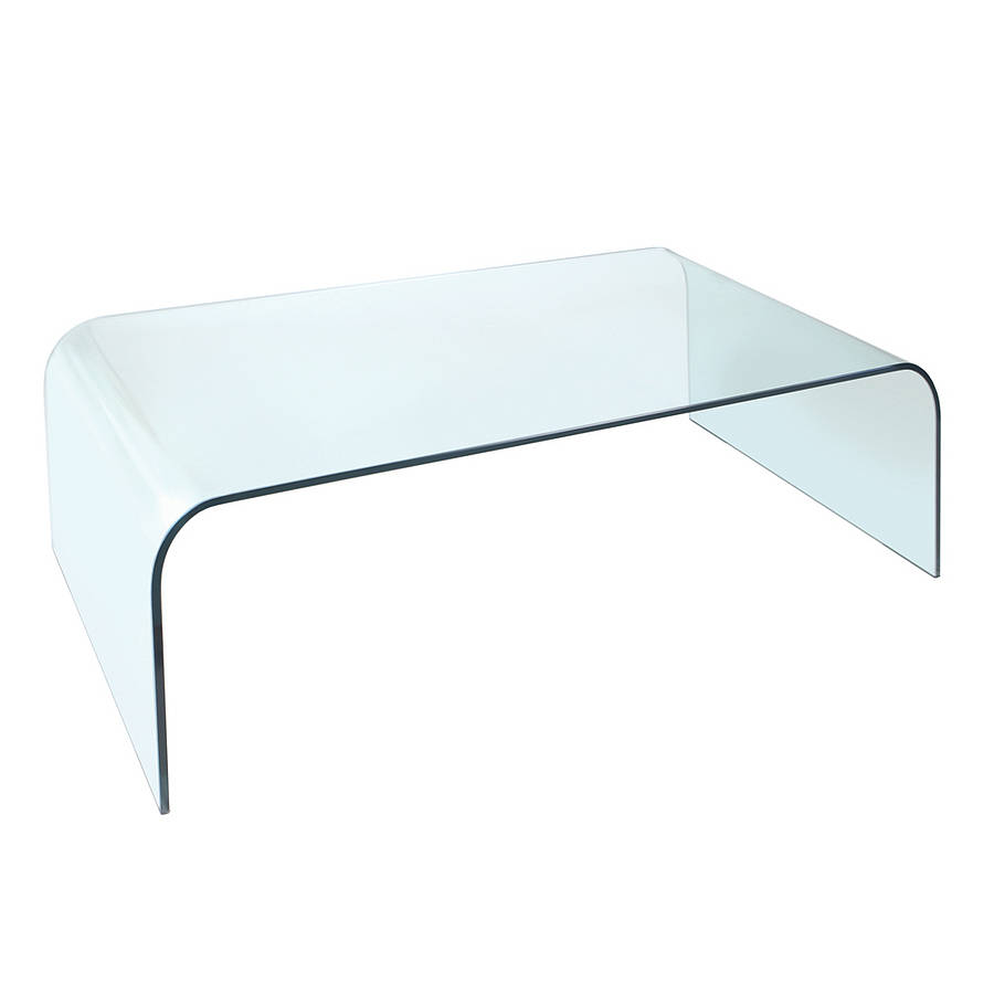 Picture of: Glass Oval Coffee Table Full