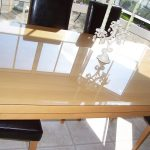 Glass Table Top Protector Clear