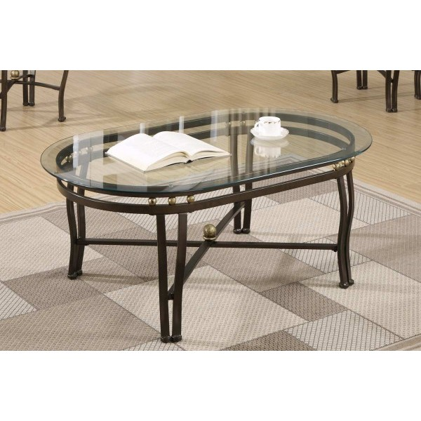 Picture of: Glass coffee table sets contemporary