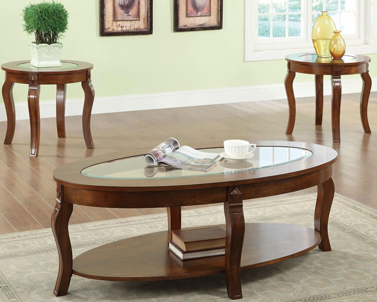 Picture of: Glass coffee table sets with storage