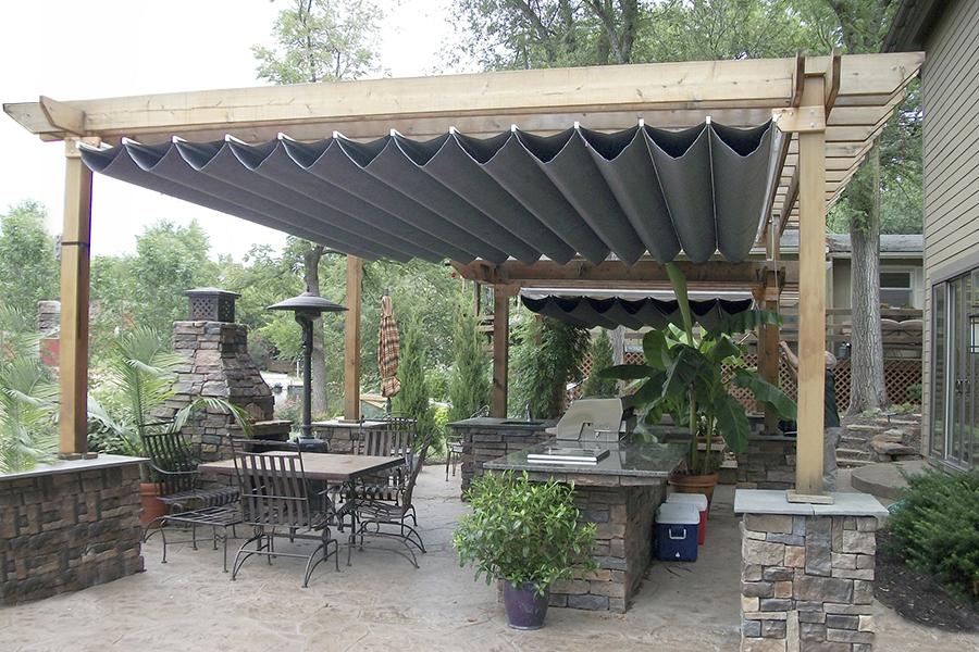 Picture of: Good Retractable Pergola